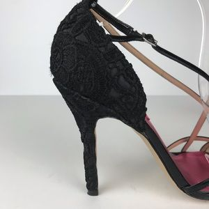 Betsey Johnson Shoes - Betsey  Johnson | Patent Leather Embroidered Heels